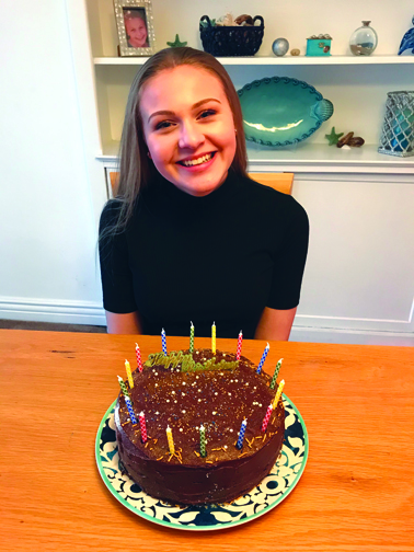 Sweet 16 Birthday Celebrated In Covid Style Crescenta Valley Weekly And that's what makes it rightly called as the sweet sixteen, specially when it comes to all the pretty little ladies. sweet 16 birthday celebrated in covid