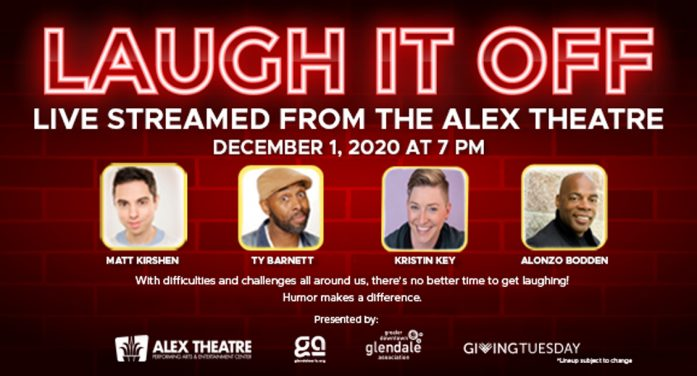 Alex Hosts 'Laugh It Off'