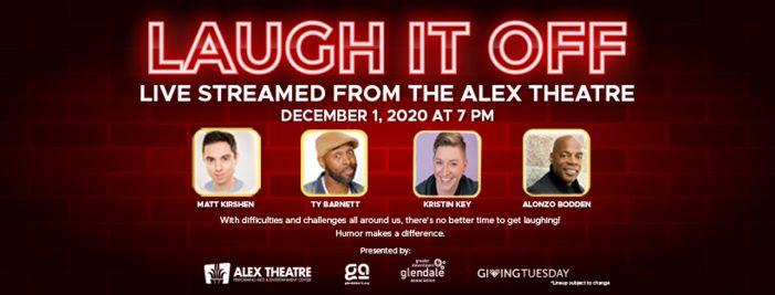 Alex Hosts 'Laugh It Off'