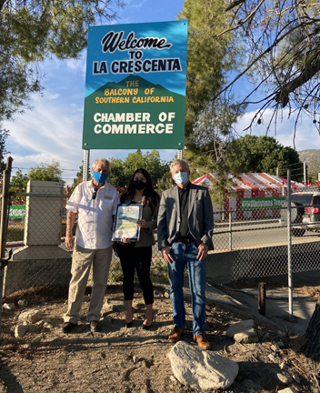A Welcoming Sign for La Crescenta