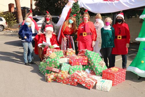 Happy Holiday Fun at Drive-Thru Santa Event
