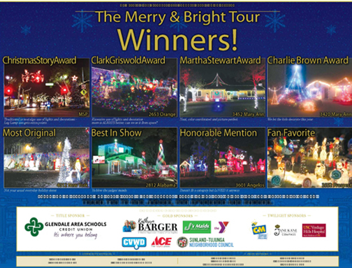Congratulations to the Merry & Bright 2020 Winners!