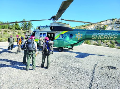 Long Days – and Night – in Search for Missing Hiker