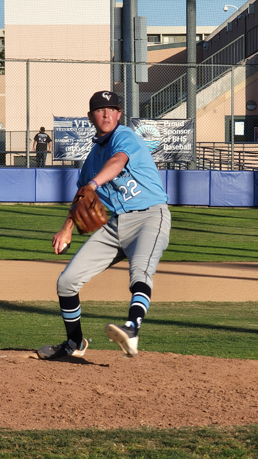 CVHS Baseball Falls to Arcadia, Takes Second in Pacific League