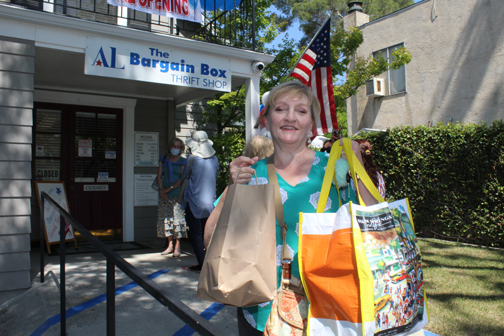 The Bargain Box Reopens to Eager Shoppers