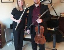 Katherine and Patrick Marsh on Glendale Noon Concerts Roster
