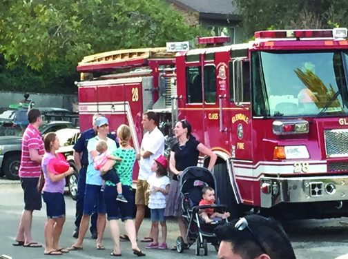 Neighbors Meet at National Night Out