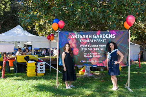 New Farmers Market in Glendale: Artsakh Gardens